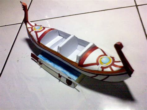Boat Paper Craft - boat free paper model papermodels