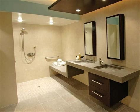 23 bathroom designs with handicap showers messagenote - Accessible Bathroom Design Ideas