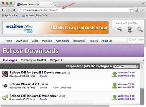tutorial java mac การต ดต ง eclipse บนเคร อง mac สำหร บเข ยน java install