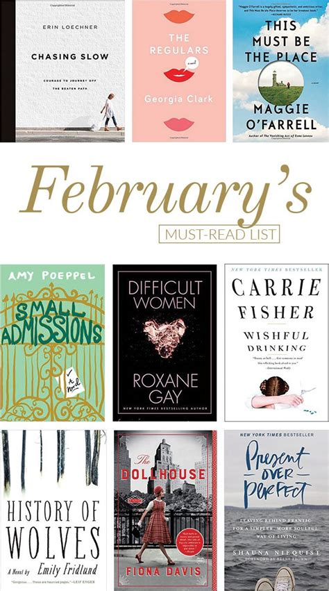 the must guide a listed must read list for february glitter guide