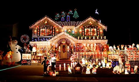 a collection of pinterest outside house christmas lights
