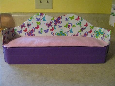 duct tape couch one goofy brown chicken diy barbie furniture