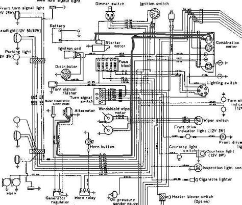 toyota 4 wire alternator wiring diagram toyota free