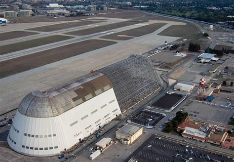 Where Is Hangar 1 by Leases Historic Nasa Moffett Airfield