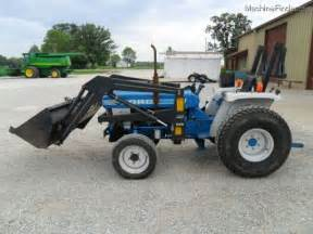Ford 1710 Tractor 1986 Ford 1710 Tractors Compact 1 40hp Deere