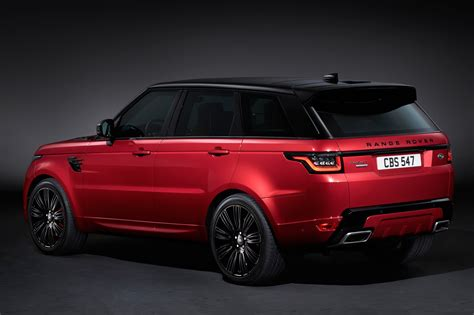 land rover sport price range rover sport 2018 my and p400e phev car magazine