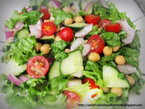Garden Salad Recipe Ideas Healthy Garden Salad My Culinary Adventures