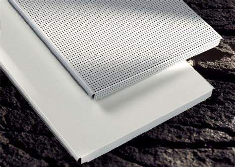Perforated Metal Ceiling Panels by Custom Perforated Metal Ceiling Tiles Panels E Shaped For