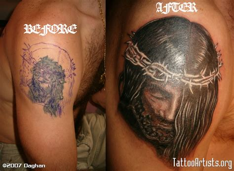 tattoo cover up artist jesus cover up artists org