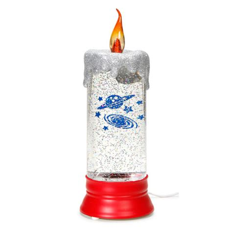 christmas candle lava l 10 5 quot christmas holiday flameless candle celestial lava l