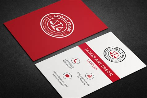 lawyer business card vol business card templates