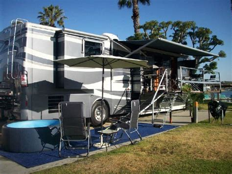 Rv With Patio by The Answer To A Truly Portable Rv Deck Or Rv Patio