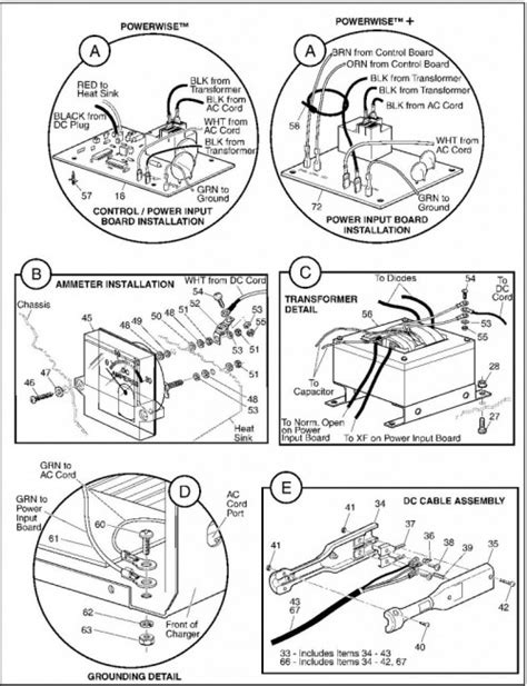 powerwise golf cart charger troubleshooting 36 volt powerwise charger wiring diagram wiring diagram