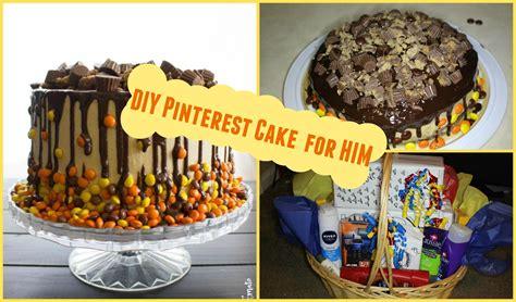 Diy Birthday Cake Trolley diy easy birthday cake for him birthday gift basket