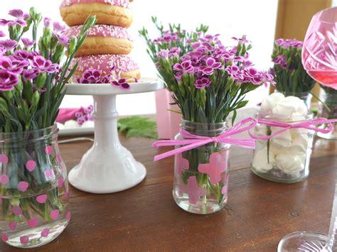 tischdeko blumen pink power diy blumen tischdeko mit mininelken sophiagaleria