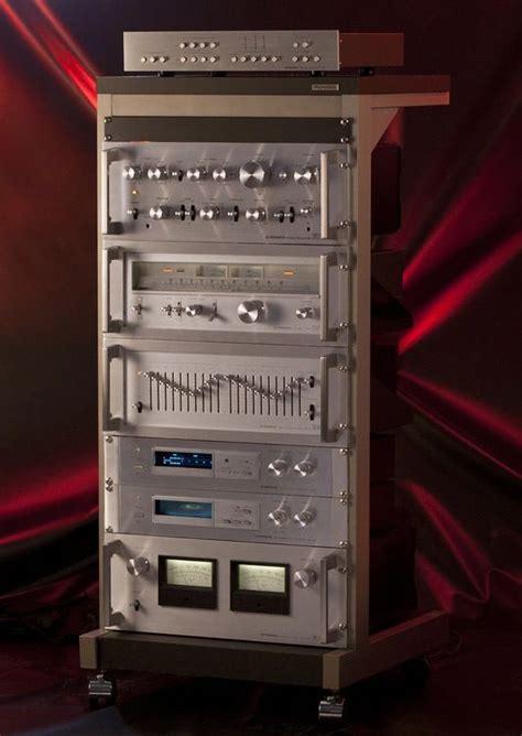 Vintage Audio Rack by Pioneer Rack Vintage Audio