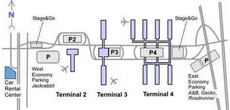 phx airport map sky harbor airport terminal map images
