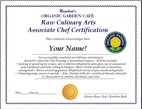 chef certificate template posts es