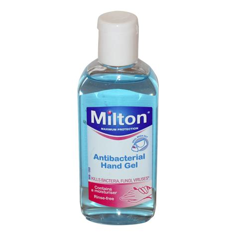 gel 100ml milton antibacterial gel 100ml anti bacterial personal care multipharmacy