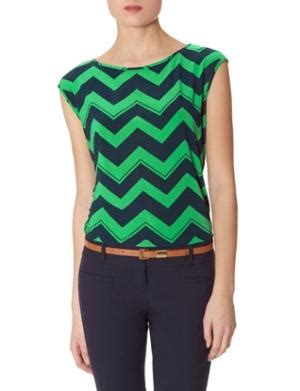 Promo Nuria Blouse chevron stripe
