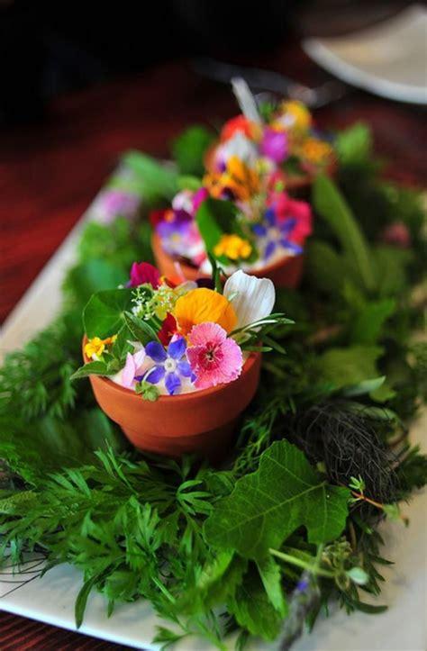 cuisiner les 駱inards frais les 25 meilleures id 233 es concernant fleurs comestibles sur
