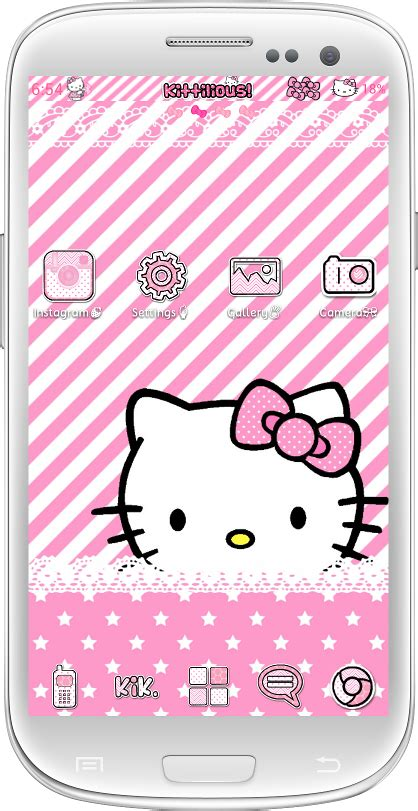 themes sms hello kitty kittilicious themes for android a collection of android
