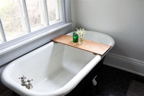 bathtub shelf tub caddy oak bathtub tray wooden bath tub caddy wood bathtub shelf