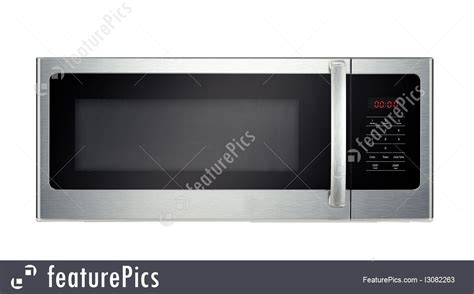 Microwave Oven Ur 1807 picture of modern microwave oven isolated
