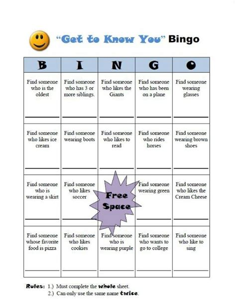 get to you bingo card template 9 best get to someone bingo images on