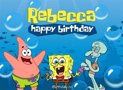 Happy Birthday Meme Spongebob