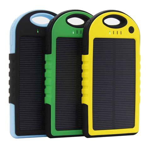 Fonel Power Bank 5000 Mah Garansi 3 Bulan solar waterproof power bank 5000mah black blue