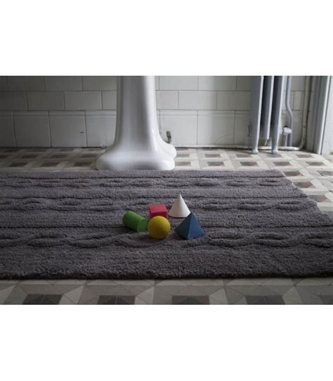 tappeto lavabile tappeto lavabile piccolo trenzas grigio scuro