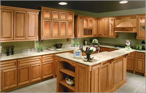 Maple Colored Kitchen Cabinets Colored Kitchen Cabinets Pictures Quicua