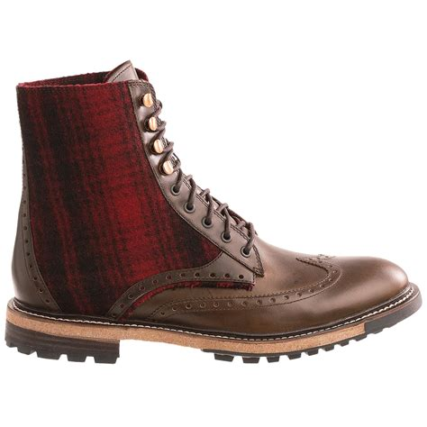 mens wingtip boots woolrich millwright wingtip boots for 8450m