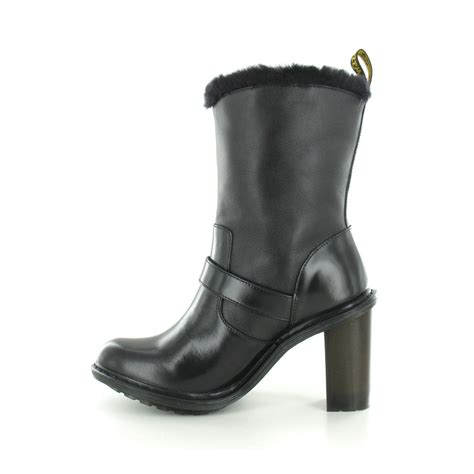 dr martens high heels dr martens parkway womens heeled leather boot in