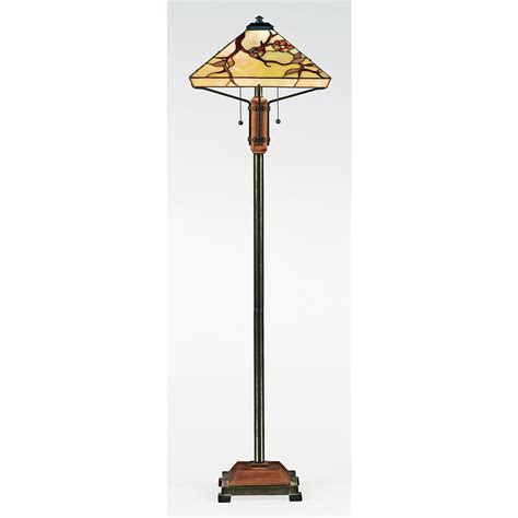 quoizel 174 grove park floor l 103320 lighting at sportsman s guide