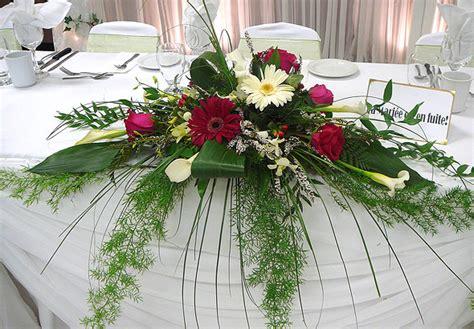 deco table mariage fleurs naturelles