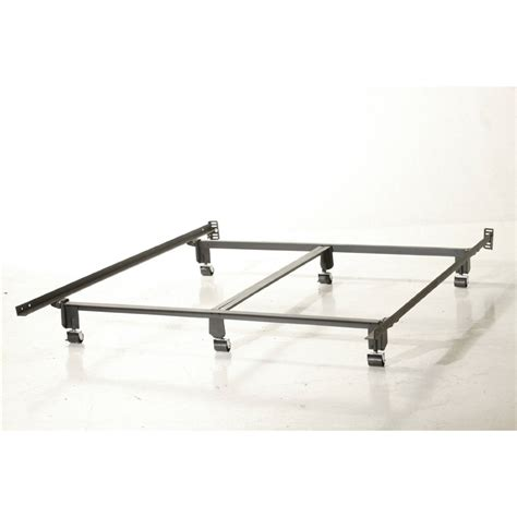 Heavy Duty Bed Frame Heavy Duty Steel Wedge Lock Metal Bed Frame Fastfurnishings