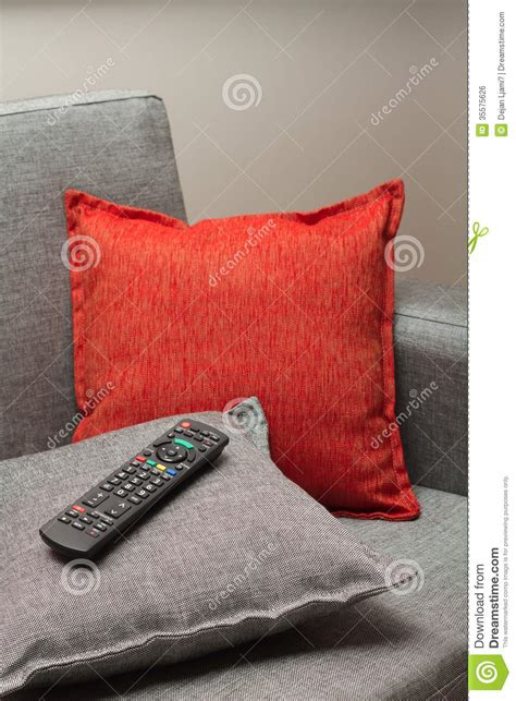 remote control couch tv remote control royalty free stock image image 35575626
