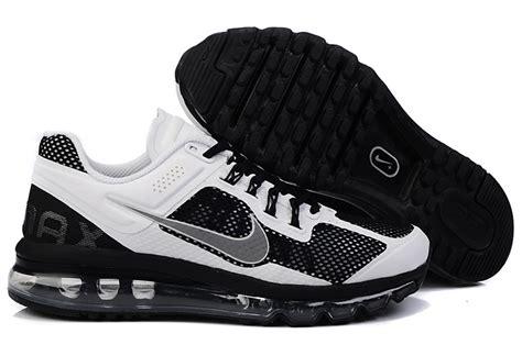 nike air max 2013 mens running shoes white blue gold