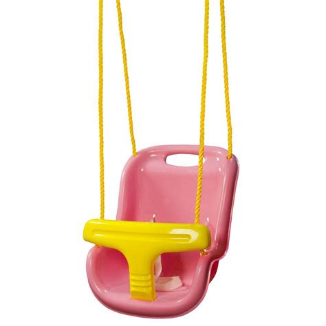 pink baby swing outdoor gorilla playsets pink infant swing with high back 04 0032