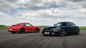 Mercedes Amg Gt S Vs Porsche 911 Gts Engine