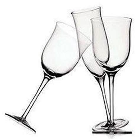 bicchieri a tulipano servizio di bicchieri