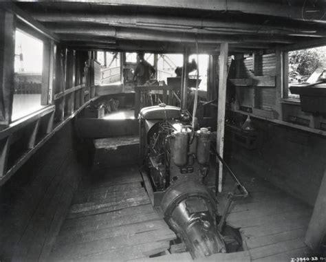 fishing boat interior fishing boat interior photograph wisconsin historical