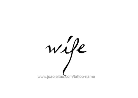 wife family name tattoo designs tattoos with names