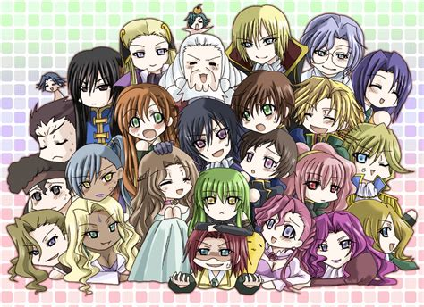 code geass the characters code geass the anime