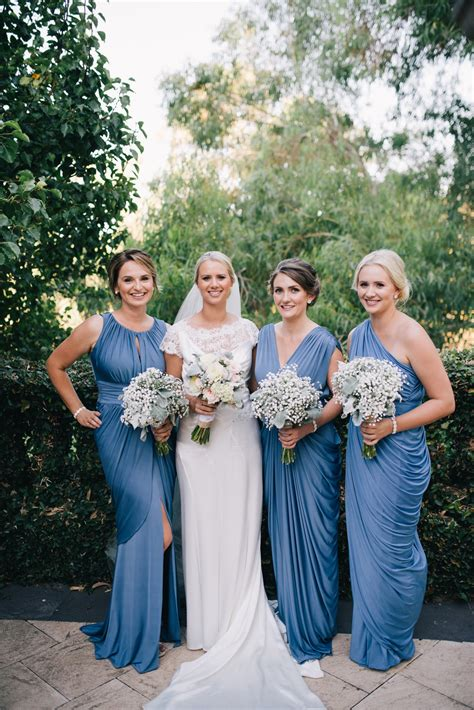 Wedding Gowns And Bridesmaid Dresses by How To Match Bridesmaids Dresses With Your Wedding Gown
