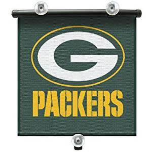Green Bay Packers Window Curtains Nfl Green Bay Packers Autoshade Sports Fan Window Treatment Curtains Sports