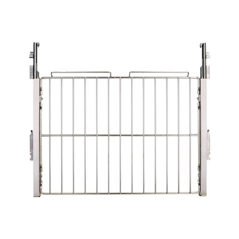 Oven Racks Lowes by Shop Bosch 27 Inch Stainless Telescopic Rack Wall Oven Accessory At Lowes