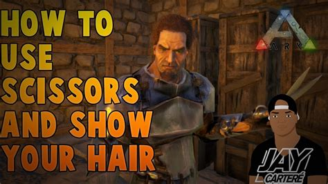 hairstyles ark ps4 ark survival evolved ps4 tutorial how to use scissors